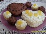 Пирожные Святой Валентин
