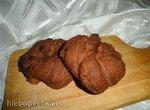 Шоколадные бублики с изюмом