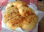 Пирожки жареные на картофельном отваре и закваске