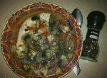 Суп Три капусты с куриным филе и шампиньонами