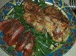 Филе курицы запечённое в рукаве в духовке