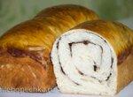 Хлеб-рулет с корицей на закваске