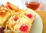 Пирог из лаваша с адыгейским сыром и вишней (быстрый и ленивый вариант)