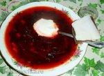 Ботвинья (ботвинник) горячая, мясопустная