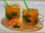 Облепихово-мандариновый горячий лимонад