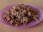 Плов из бурого риса и куриной грудки в мультиварке Поларис 0517-D