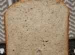 Хлеб сладкий с цельнозерновой мукой