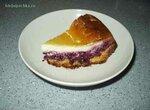 Пирог ягодный со сметанным кремом