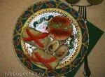 Голубцы из пекинской капусты с грибами и коричневым рисом в мультиварке Redmond RMC-M 4502