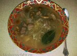 Суп из лесных грибов с квашеной капустой в мультиварке Redmond RMC-M 4502