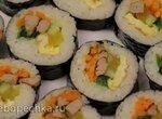Кимбап - роллы из корейской кухни