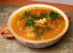 Пряный суп из  красной чечевицы, тыквы и красного перца (Steba DD2)