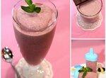 Вишнёво-шоколадно-мятные десерты - 3 варианта: Джелато, Мороженое и Коктейль