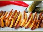 Спиральная картошка с беконом
