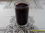 Диетический джем из чёрной смородины