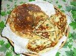 Хачапури без замешивания, на сковороде