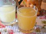 Напиток из творожной сыворотки, медовый