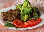 Мясо с брокколи в multicuisine от Delonghi