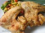 Куриные крылышки-гриль в кукурузной панировке