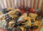 Мясо в батате (остатки сладки)
