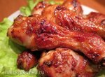 Куриные ножки в остро-кисло-сладкой глазури (Multicuisine DeLonghi)