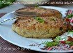 Котлеты капустные с рисом и льняным яйцом (постные)
