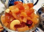 Айвово-лимонное варенье с орехами (Multicuisine DeLonghi)
