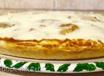 Пирог яблочно-банановый на галетном тесте ( ПиццемейкерTristar PZ-2881)