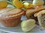 Мини-пироги с печенью, рисом и овощами (в пай-мейкере Тристар)