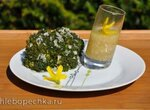 Брокколи с лимонно-медовым соусом