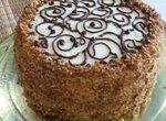 Торт Домашний с карамелью и киви