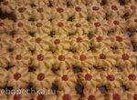 Песочное печенье отсадное Ромашка (по типу Курабье)