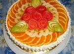 Торт Ананасовое мамбо