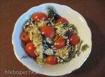 Салат-гриль из баклажанов и яблок (электрический гриль Steba 4.4)