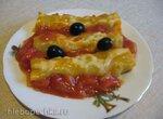 Каннеллони с мясом и овощами  (пиццамейкер Princess)