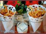 Хрустящая стружка-чипсы из батата