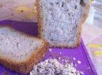 Пшеничный хлеб с семенами льна и подсолнечника (духовка)
