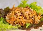 Салат с морковью по-корейски и фасолью