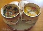 Балканское блюдо Гювеч с мясом  (духовой электрический шкаф)