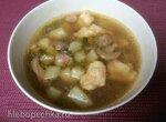 Грибной суп с фрикадельками и клецками (мультикузина Delonghi)
