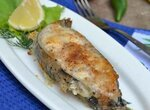 Рыба сочная в бумаге для жарки