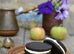 Печенье шоколадное с кремом по мотивам печенья Орео