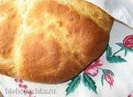 Пшеничный хлеб на манной каше и твороге