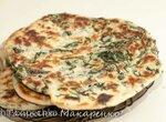Пресные лепёшки с свекольной ботвой в GFB-1500 Pizza-Grill
