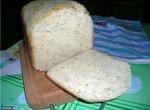 Рисовый  хлеб  с  сыром и  зеленью.
