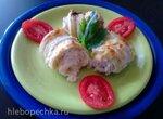 Рулетики из кабачков с куриным мясом в пиццепечке  Princess или духовке