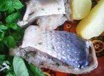 Рыба малосольная
