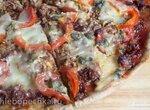 Пицца Брутальная на ржано-пшеничном тесте