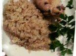 Рис Жемчужное Зёрнышко с пряной курочкой на пару (для мультиварки Toshiba RS-18-MNFR)