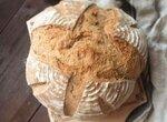 Пшеничный цельнозерновой хлеб на опаре